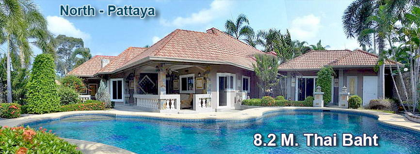 Beautiful Quality house in North Pattaya with guest house