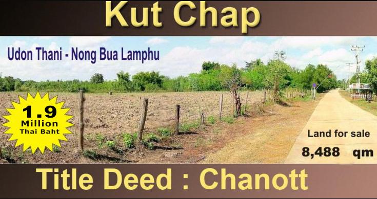 2021-Land for sale Udon Thani - Kutchap