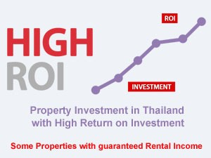 real estate investment in Thailand with high return