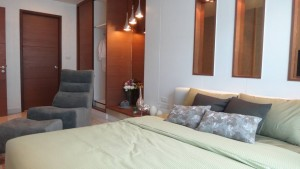 refurbished condo with a new bedroom