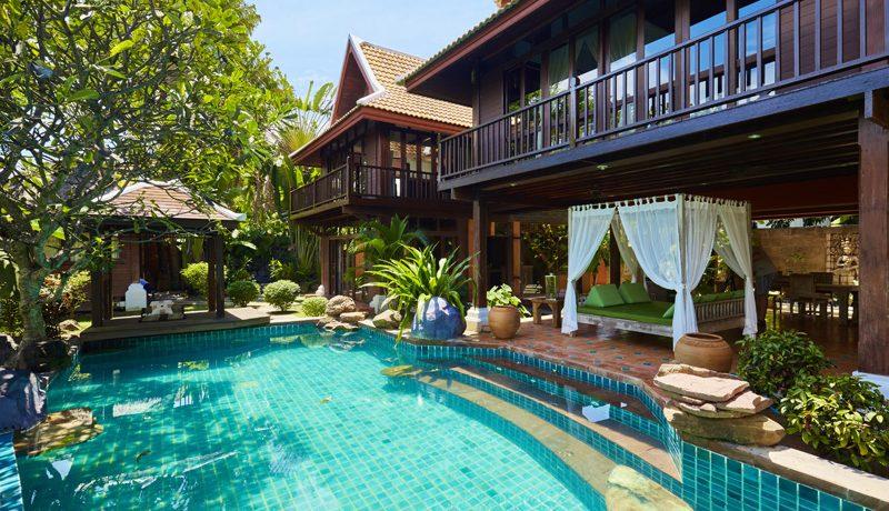 Authentic Bali style 3 plus bedroom estate at top Jomtien/Pattaya location