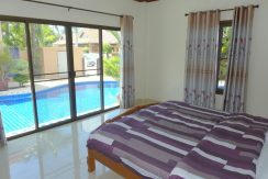 """This is a 3 bedroom and 2 bathroom villa with a large pool and high standards in a secure village south of Pattaya. The entire house is equipped with quality furniture and quality technical details. Please see the pictures! The villa comes """"as is� :..."""