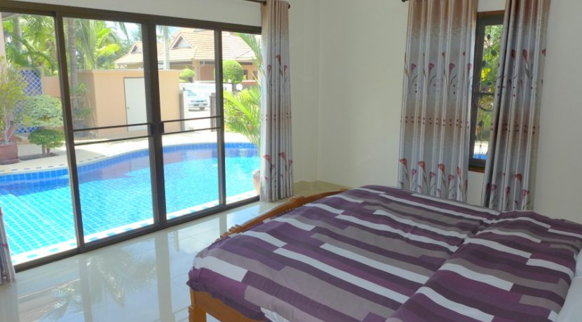 "This is a 3 bedroom and 2 bathroom villa with a large pool and high standards in a secure village south of Pattaya. The entire house is equipped with quality furniture and quality technical details. Please see the pictures! The villa comes ""as is� :..."