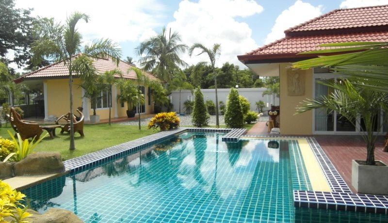 might suit you. The fully furnished villa is built on a generous 960 sqm plot and is embedded in :...