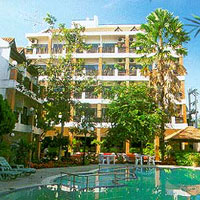 Popular 3 star hotel on Jomtien beach Pattaya for sale
