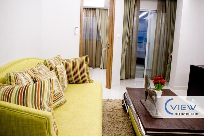 C-View: modern 1-bedroom condo, top Pratumnak location for sale
