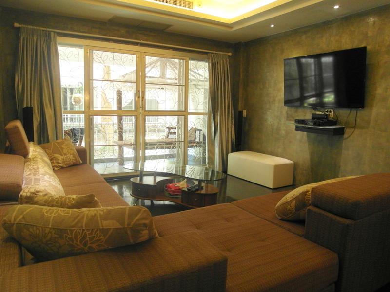 1 bedroom Condo: stylish and spacious, 800 meters from Jomtien beach