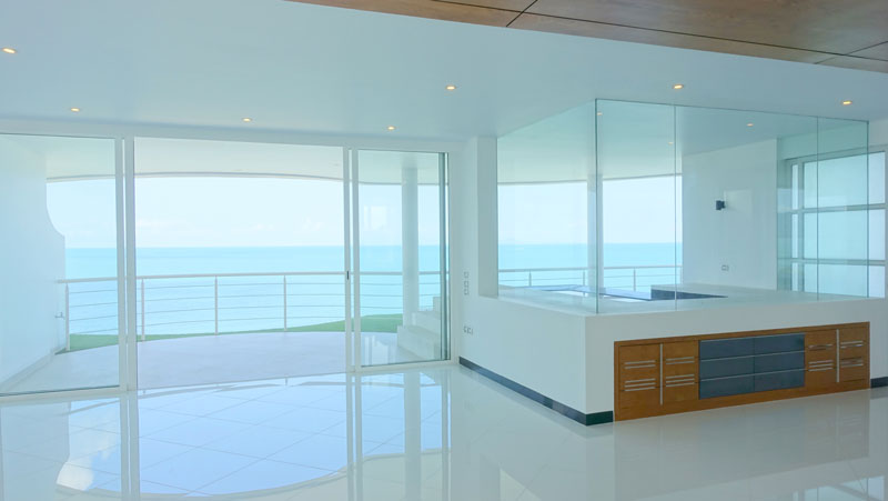 The Pure: New designer beachfront pool-penthouse