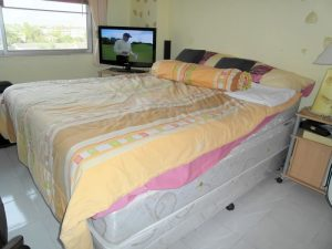 It`s all there in this Na-Jomtien 2-bedroom condo near the beach. Nice