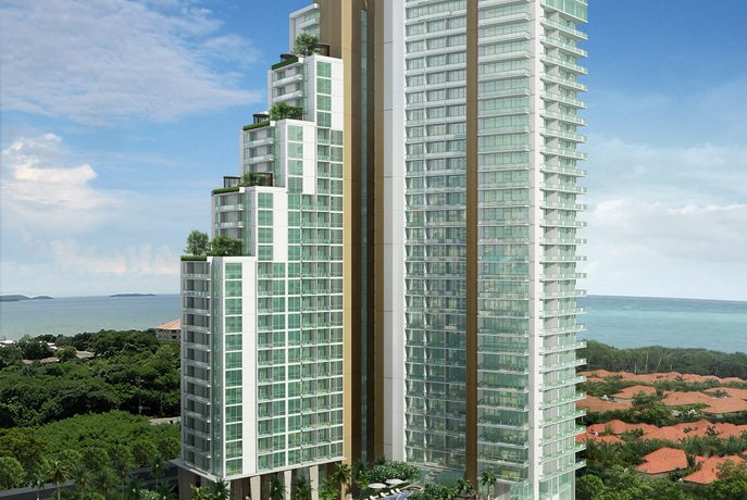 located in one of Pattaya's most desirable residential areas on Pratumnak Hill