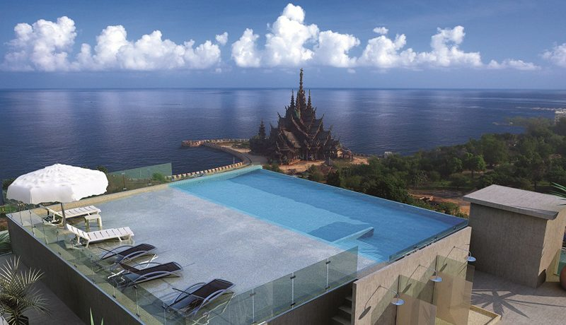 this distinctive low-rise condominium invites you to bask in the luxury of beachside living. With a bird's eye view of Pattaya Bay