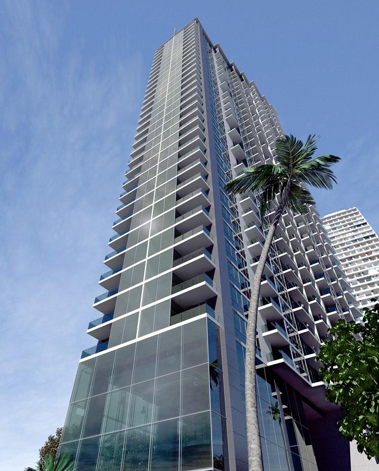 Wong Amat Tower: High class beachfront studio condo
