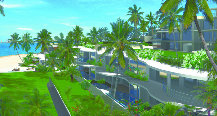 1-bedroom condo at high-end beachfront project for sale