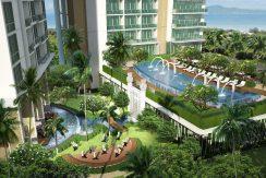 A 1 bedroom condo of 43 sqm in one of the finest condominium developments in the Pattaya area