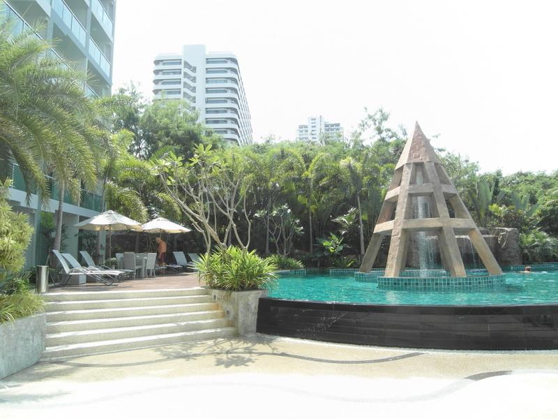 Wong Amat beach, Club Royal, modern, brandnew studio