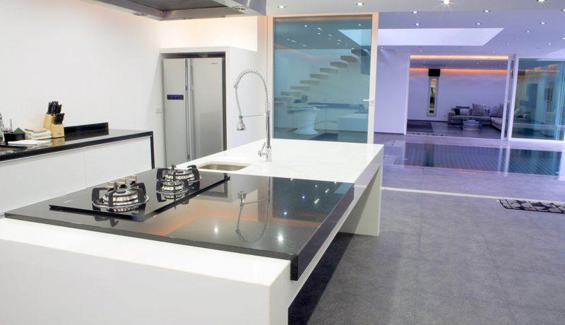 This designer villa is gorgeous. Very roomy