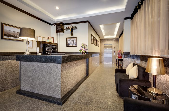 The freehold property offers a total of 41 hotel units in 6 categories