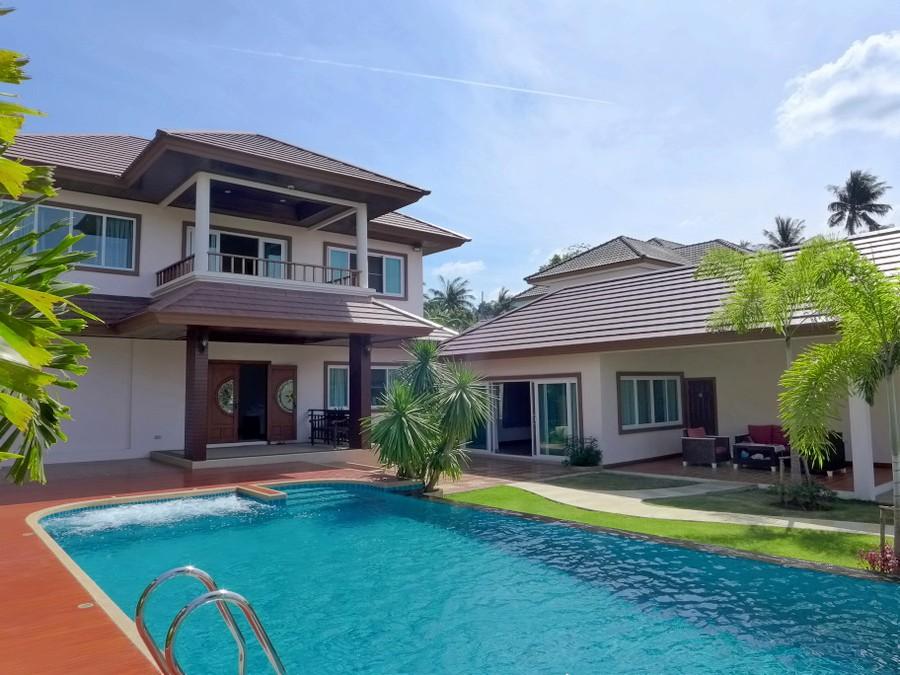 Brand new 6 bedroom pool villa over Bang Sarae