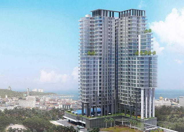 South Pattaya, New City Garden Tower Condo for Sale
