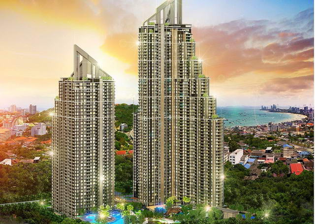South Pattaya New Grand Solaire Condo for Sale