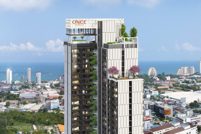 North Pattaya New Once Pattaya Condo for Sale