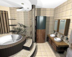 new basthroom after refurbishing condo pattaya