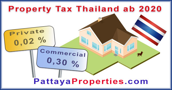 property tax land and building tax Thailand 2020